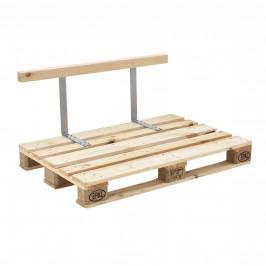 Operadlo dokonale zapadá do drevených paliet.