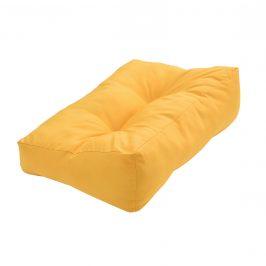Paletový nábytok - vankúšová sada - horčicovo žltá