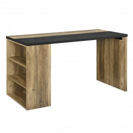 Dizajnový písací stôl - MDF - imitácia dreva - 140 x 68 x 77 cm