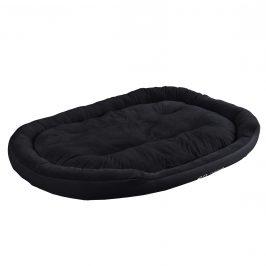 Pelech - pre mačky a psov - s obojstranným vankúšikom - oxford látka / PP-bavlna - 150 x 120 x 23 cm [XXL] - čierny