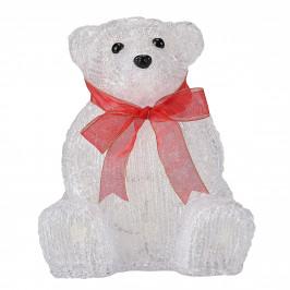 [in.tec]® Svietici ľadový medveď - 24 LED - vianočná dekorácia