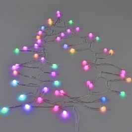 [in.tec]® Vianočná LED reťaz - 7 rôznych farieb, automatické striedanie - 50 guliek
