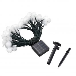 [in.tec]® Solárna vianočná svetelná reťaz - 13,8 m - 50 LED