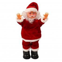 Spievajúci a tancujúci Mikuláš - break dance - vianočná dekorácia