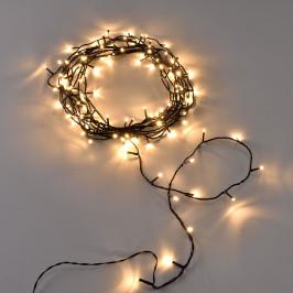 [in.tec]® Vianočná svetelná reťaz - teplá biela - 240 LED - 23 m