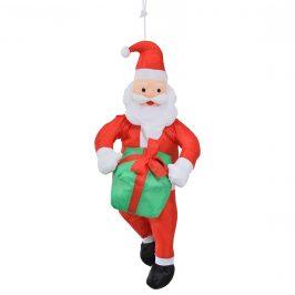 Mikuláš / Santa Claus na lane - vianočná dekorácia - 90 cm