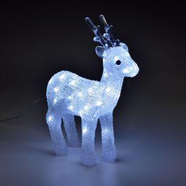 [in.tec]® Svietiaci sob - vianočná dekorácia - 40 LED
