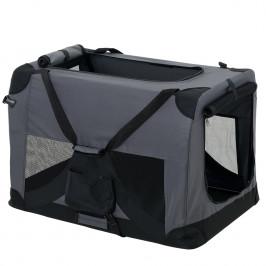 Taška na prepravu zvierat - S - sivá
