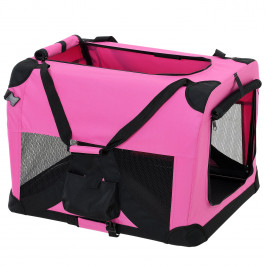 Taška na prepravu zvierat - S - ružová