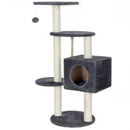 Pelech pre mačky - 40 x 40 x 113 cm- sivý