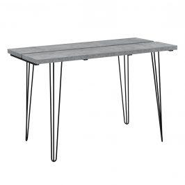[en.casa]® Jedálenský stôl AANT-0310 - imitácia betónu