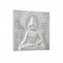 [art.work] Ručne maľovaný obraz - Buddha - plátno napnuté na ráme - 30x30x2,8 cm
