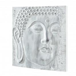 [art.work] Ručne maľovaný obraz - Buddha 5 - plátno napnuté na ráme - 60x60x3,8 cm