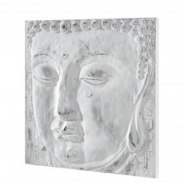 [art.work] Ručne maľovaný obraz - Buddha 6 - plátno napnuté na ráme - 60x60x3,8 cm