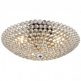 [lux.pro]® Štýlové stropné svietidlo - Vapora - chrómovo-biele (3 x E14)