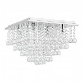 [lux.pro]® Extravagantné stropné svietidlo - Veli Prisma - umelé kryštály (4 x G9)