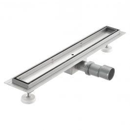 [neu.haus]® Nerezový podlahový žľab – moderný odtok do sprchy - pre vloženie dlažby -  (90x7cm)