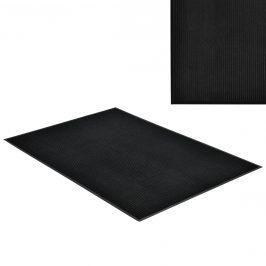 [en.casa]® Rohožka - koberc - 180 x 120 cm - čierna