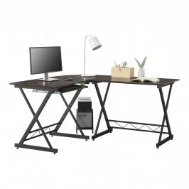 [en.casa] Rohový písací stôl 'Trondheim' ABOT-1030