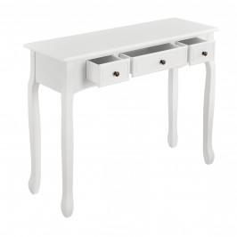 [en.casa] Konzolový stolík ABTF-1211 - biely