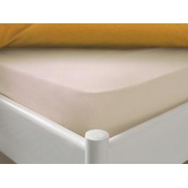 Posteľná plachta Mix&Match Dormeo, 140x200 cm, slonovinová