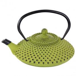 Toro kanvica na čaj liatinová 1,25 l, zelená