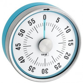 Mechanická minútka TFA 38.1028.20 - PUCK - modrá