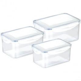 TESCOMA FRESHBOX 3 ks, 0,9, 1,6, 2,4 l, hlboká