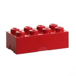 LEGO Box na desiatu 100 x 200 x 75 mm - červený
