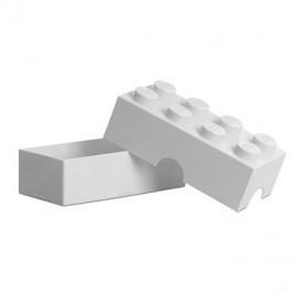 LEGO Box na desiatu 100 x 200 x 75 mm - biely