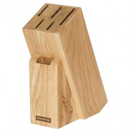 TESCOMA Blok WOODY, na 5 nožov a nožnice