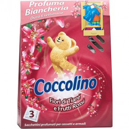 COCCOLINO Frutti Rossi vôňa do skrine 3 ks