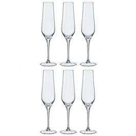 Crystalex Poháre na šampanské REBECCA 195 ml 6 ks