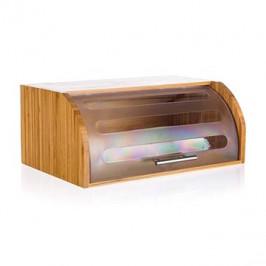 BANQUET Chlebník bambusový BRILLANTE 40,5 × 27 × 17 cm, s plastovým vekom