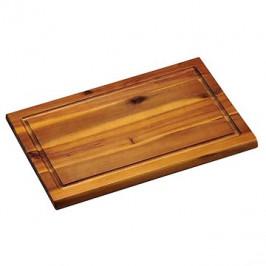 Kesper Krájacia doska s drážkou agátové drevo 31×21 cm