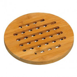 Kesper pod hrniec okrúhla, bambus