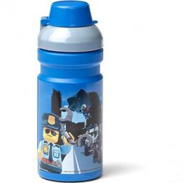 LEGO City fľaša na pitie – modrá