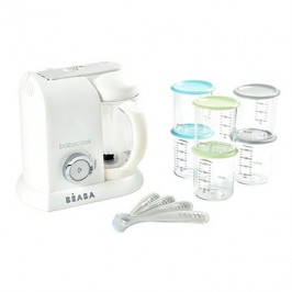 Beaba BABYCOOK White Silver Limited Edition