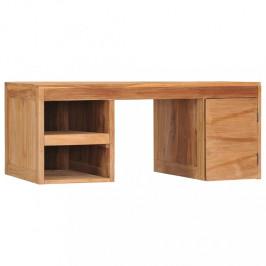 Konferenčný stolík 90x50 cm teakové drevo Dekorhome