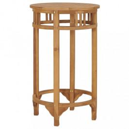 Barový stôl Ø 60 cm hnedá Dekorhome