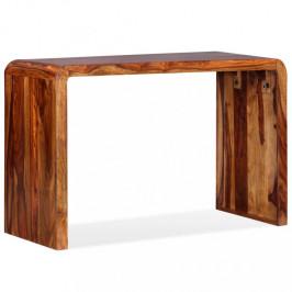 Odkladací stolík hnedá Dekorhome