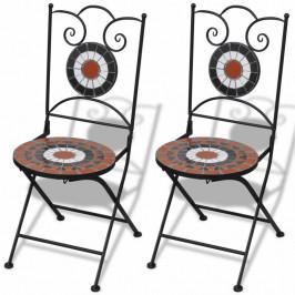 Záhradná skladacia stolička 2 ks