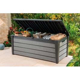 BRUSHWOOD box - 455L - antracit+šedý Keter