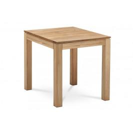 Jedálenský stôl DS-D080 OAK 80x80 cm masívny dub Autronic