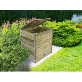 Záhradný kompostér drevo Dekorhome