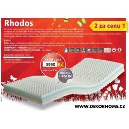 Matrace 1+1 zdarma z polyuretanové pěny Rhodos 90 x 200 cm Purtex