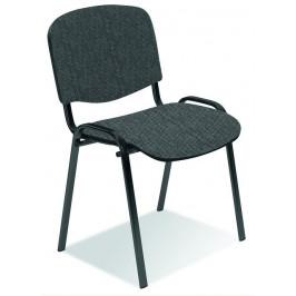 Konferenční židle ISO šedočerná Halmar