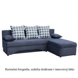 Rohová sedací souprava, tmavě šedá, POLARIS NEW 0000146371 Tempo Kondela