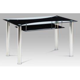 Jedálenský stôl HT-415 BK Autronic