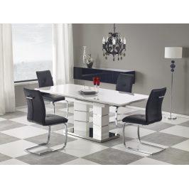 Jedálenský rozkladací stôl LORD Halmar Biela